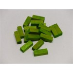 Cuisenaire Rods (50) 3cm Light Green